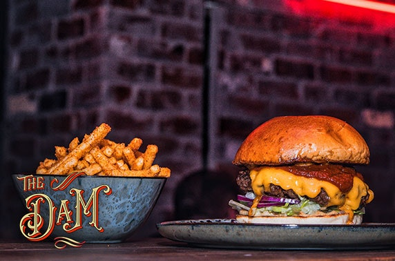The Dam dining, Merchant City - from £7pp