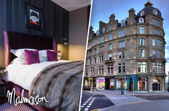 4* Malmaison Dundee stay