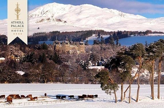 4* Atholl Palace stay, Pitlochry