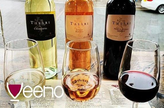 Italian afternoon tea or wine flights, Rose Street