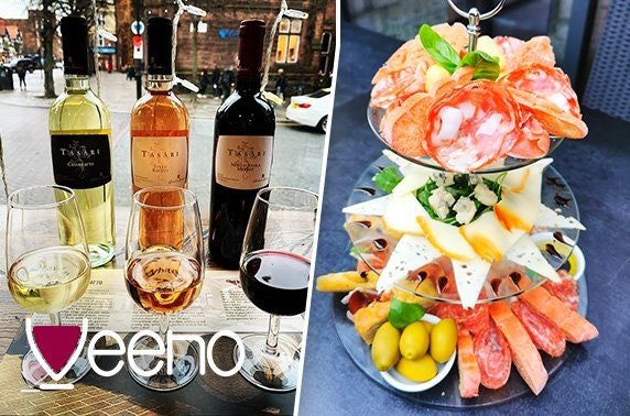Italian afternoon tea or wine flights, Rose Street