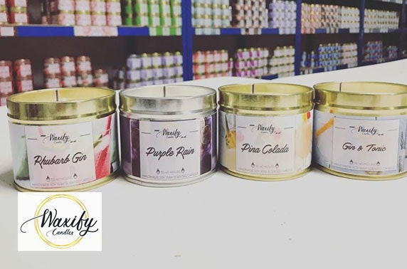 Waxify candles & bundles, delivered