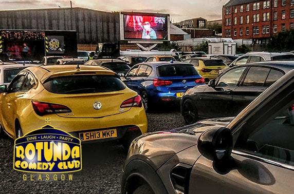 Rotunda Comedy Club drive in