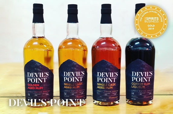 Virtual rum tasting tour with Devil's Point Rum