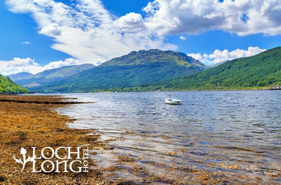 Loch Long Hotel DBB, near Loch Lomond - from £59