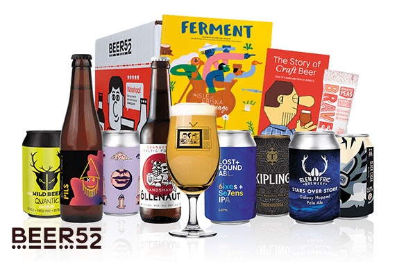 Beer52 beer hamper - £14