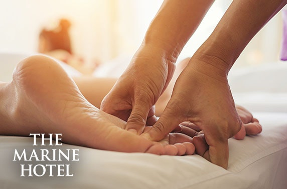 4* Marine Hotel spa day, Troon
