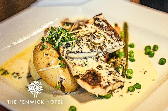 The Fenwick Hotel lunch