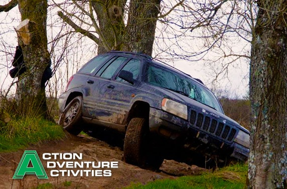 Kid's, junior or adult 4x4 driving session, Stirlingshire