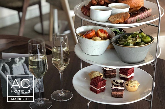 Festive afternoon tea with Prosecco, AC by Marriott