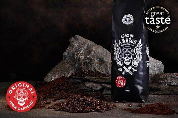500g bag of coffee