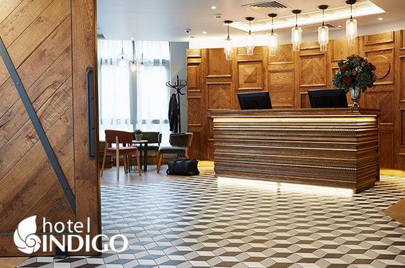 Hotel Indigo York stay