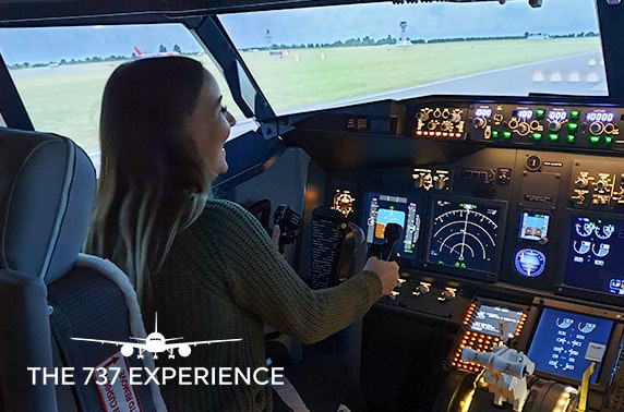 Flight simulator experience, The 737 Experience