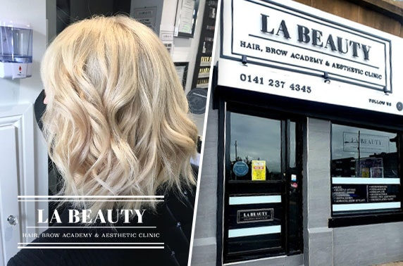 L.A Beauty hair treatments