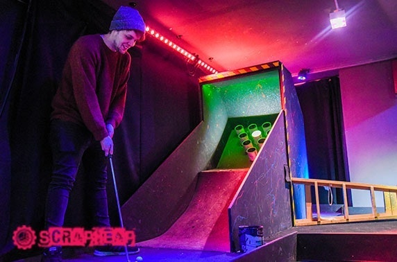 Crazy golf and cocktails - from £10pp