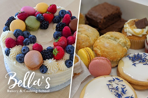 Bella's Bakery cake & biscuit box or celebration cake