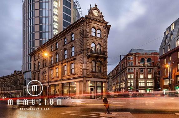 Mamucium dinner & overnight, Manchester