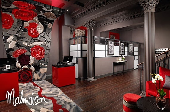 4* Malmaison, Edinburgh City stay