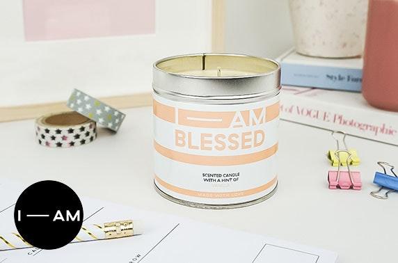 Positive affirmation candles voucher spend