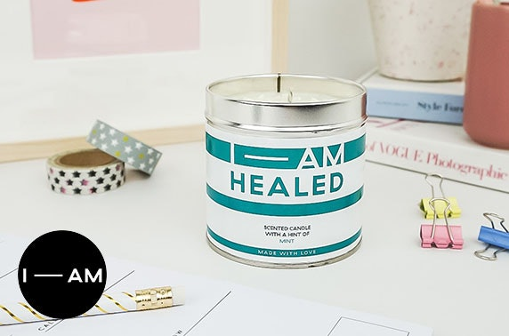 Positive affirmation candles voucher spend
