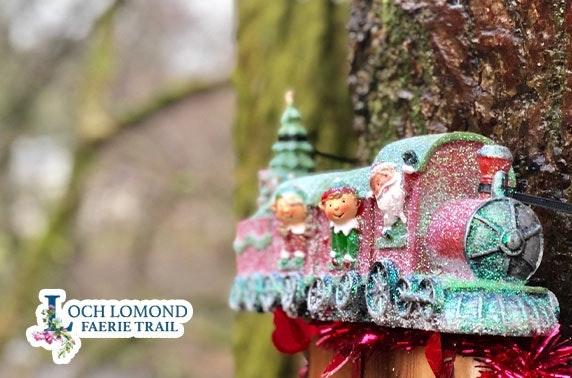 Loch Lomond Faerie Trail festive adventure - from £2