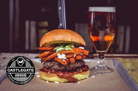 BrewDog Castlegate takeaway burgers & beers