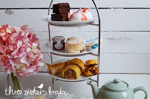 Three Sisters Bake afternoon tea