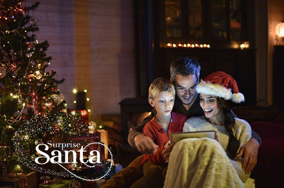 Personalised video message from Santa - £12