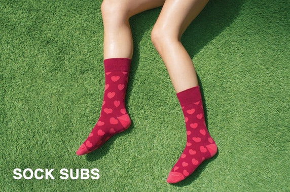 Sock subscription - from under £5pm