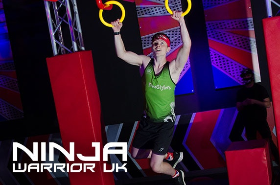 Ninja Warrior UK adventure, Edinburgh