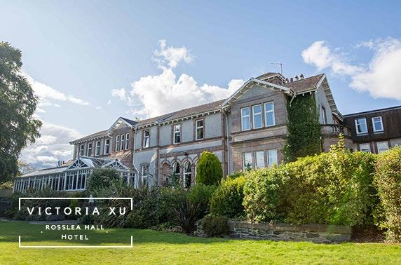 Stunning Rosslea Hall Hotel stay, near Loch Lomond