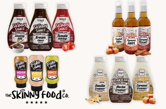 Low & zero calorie sauces and syrup bundles - from £9