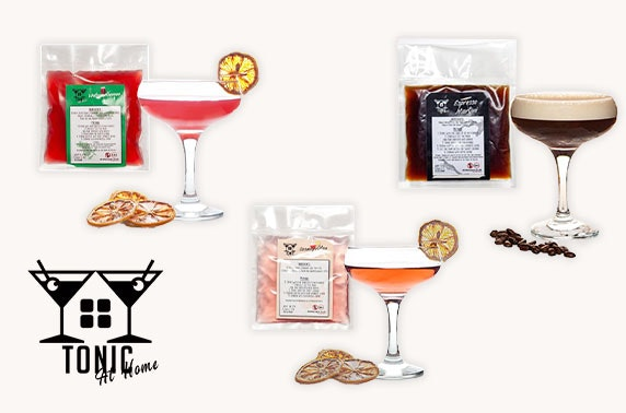 Letterbox cocktails delivered, free P&P