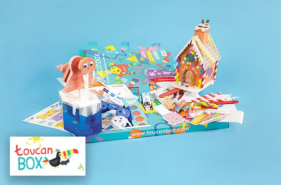 Kids Christmas themed craft box - from £5.95