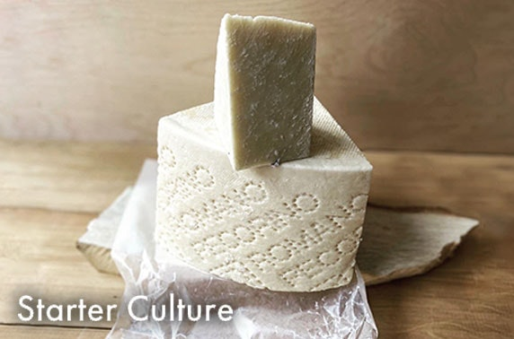 Scottish or Italian cheese hampers from Starter Culture