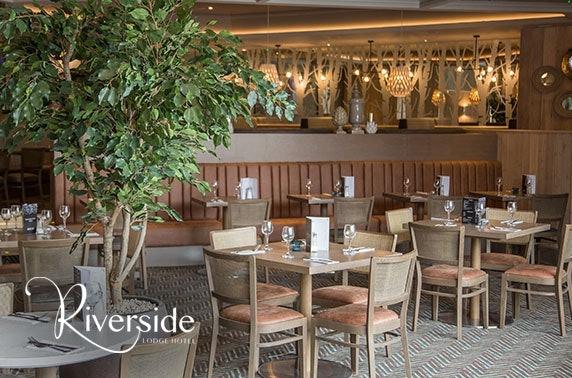 4* Riverside Lodge Hotel afternoon tea