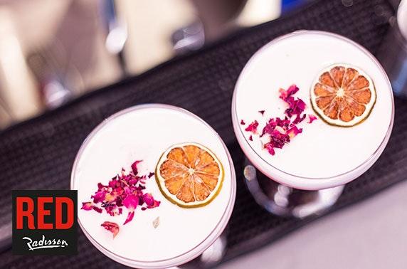 Radisson RED small plates & drinks