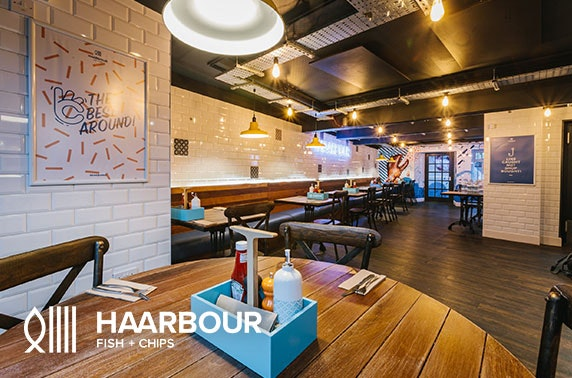 Brand new Haarbour Fish + Chips, St Andrews
