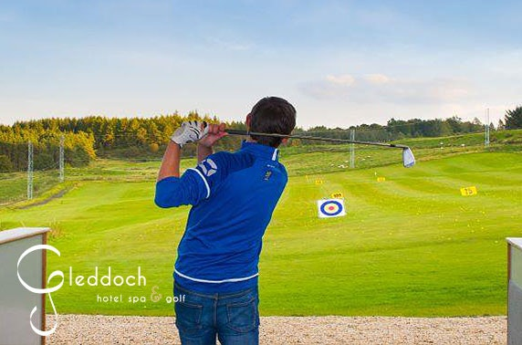 4* Gleddoch golf