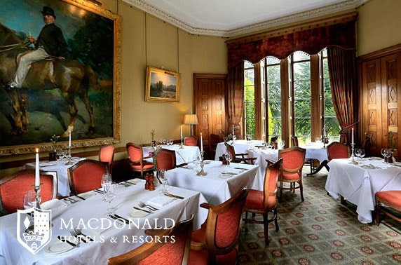 Macdonald Pittodrie House lunch