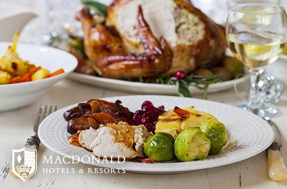 Festive roast at Macdonald Pittodrie House