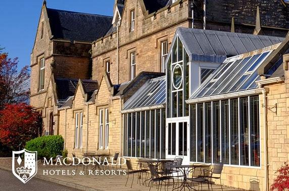 4* Macdonald Inchyra Hotel & Spa stay