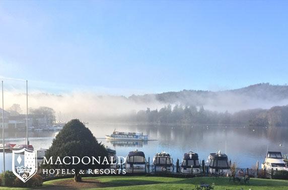 4* Macdonald afternoon tea, Lake District