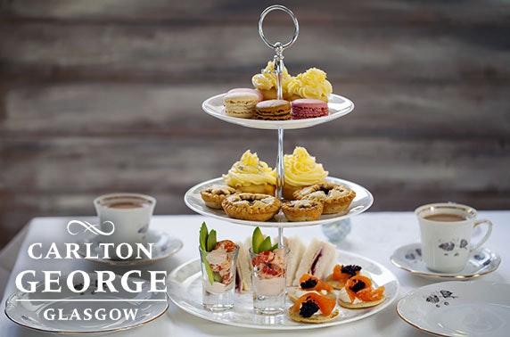 Festive afternoon tea at 4* Carlton George Hotel, City Centre