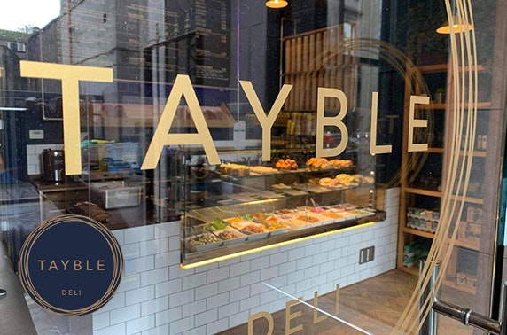 Tayble Deli lunchtime takeaway, City Centre