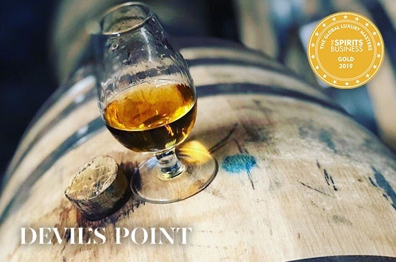 Devil's Point Rum tasting box with 3 x 50ml rums