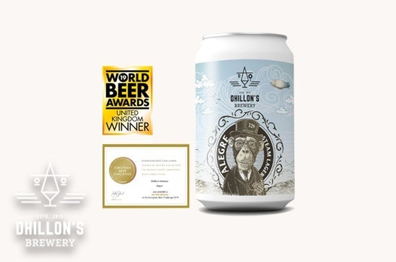 Award-winning Dhillon's Brewery beer hamper