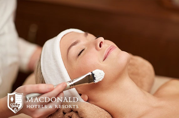 4* Macdonald Inchyra Hotel spa day