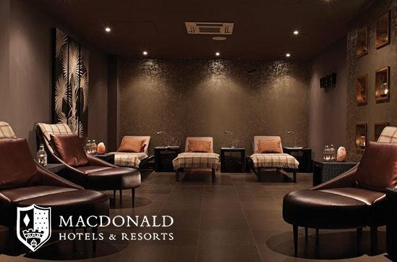 4* Macdonald Inchyra Hotel spa day