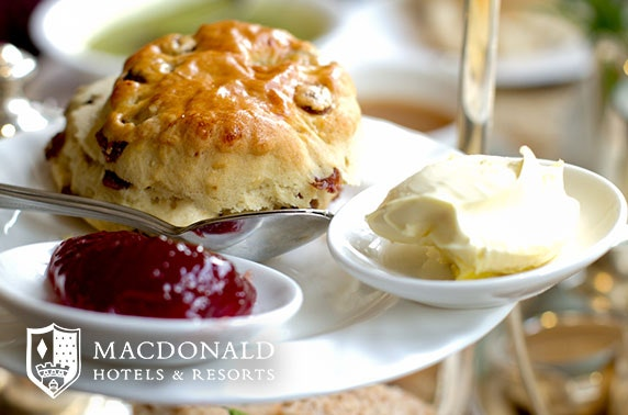 4* Macdonald Inchyra afternoon tea